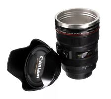 Caniam Camera Lens & Hood Thermos As Canon EF 24-105mm Coffee Mug Cup FREE SHIP!