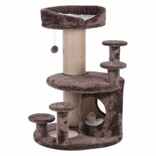 Best Cat Tree Plush Coated Brown Older Cats Lookout Towers Climbing Sisal Areas
