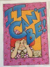 Mary Engelbreit Artwork-It Can't Be!-Handmade Fridge Magnet