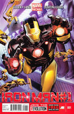 IRON MAN (2013) #1 Marvel Now