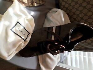 Authentic Gucci Brown Sneakers Men's Size 9