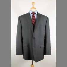 Ralph Lauren 50L Gray Solid 100% Wool 2-Button Sport Coat