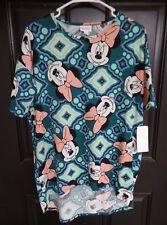 LULAROE -- Irma Disney Minnie Mouse Multi Color Print High/Low Tunic XS NWT