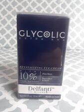 Nib sealed Delfanti Milano Revitalizing Eye Cream w/ 10% Glycol Acid, 0.5 oz
