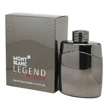 Mont Blanc Legend Intense 3.3 / 3.4 Oz EDT Spray NIB Sealed Cologne For Men