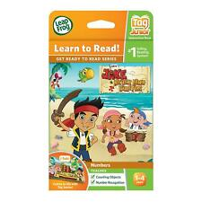 LeapFrog LeapReader Tag Junior Counting & number Book Disney Never Land Pirates