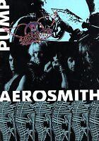 AEROSMITH 1989 PUMP TOUR CONCERT PROGRAM BOOK / JOE PERRY STEVEN TYLER / EX 2 NM