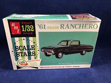 AMT 1961 Ford Falcon Ranchero 1:32 Scale Plastic Model Kit 984 New in Box