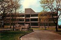 Springfield Massachusetts~College Campus~Babson Library~1970s Postcard