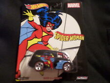 2017 HOT WHEELS MARVEL SPIDER WOMAN QUICK D-LIVERY  HW HOTWHEELS  VHTF RARE