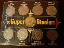 1995 Super Steelers Coin Set_Giant Eagle_Football_NFL_New_Lambert_Cowher_Blount