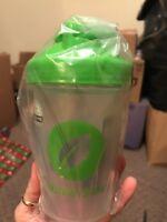 Nutrisystem blender bottle shakes shaker 16 ounces NEW mixer whisk ball
