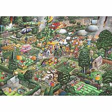 GIBSONS Mike Jupp's I Love GARDENING 1000 Pieces Jigsaw Puzzle countryside