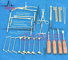Veterinary orthopedic instruments & implants Surgery 32 Pcs Set By Zabeelind