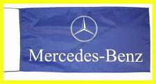MERCEDES BENZ FLAG BANNER  BLUE e-classsl m r gl 5 X 2.45 FT 150 X 75 CM