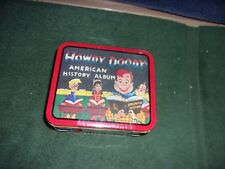 1998 Howdy Doody American History Album Lunch Box Still Sealed