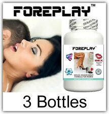 3 FEMALE LIBIDO ENHANCING PILLS INCREASE WOMEN SEX DRIVE & HORNY ORGASMS TABLETS