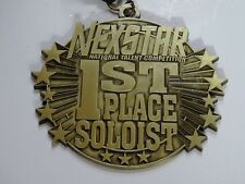 NEXSTAR 1ST FIRST PLACE SOLOIST TALENT DANCE COMPETITION MEDAL AWARD RIBBON