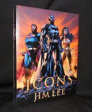 ICONS DC COMICS WILDSTORM ART OF JIM LEE HC TITAN 1ST NEW MINT FREE SHIP