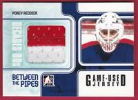 POKEY REDDICK 2010-11 IN THE GAME BETWEEN THE PIPES PATCH