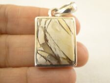 Picture Jasper 925 Sterling Silver Pendant Jewelry