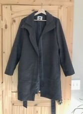 Old Navy Women's Charcoal Wool Trench Coat (Size - Women's Large)