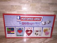 UNITED STATES POSTAL SERVICE POST OFFICE OPOLY THE LOVE STAMPS BOARD GAME