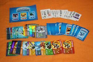 88 skylanders karten sticker codes sammelkarten skylander sammlung trading