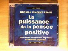 CD LIVRE AUDIO / NORMAN VINCENT PEALE / LA PUISSANCE DE LA PENSEE POSITIVE /NEUF