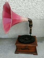 Ancien petit gramophone OMNIBUS PATHE