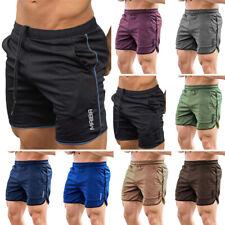 Boys Men Fitness Sport Shorts Football Pants Gym Workout Training Running Shorts
