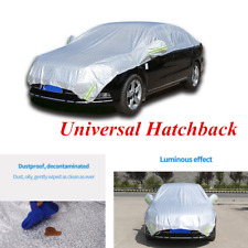 Summer Hatchback Car Cover Water Proof Rain Sun Shade All Weather Protection