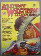 "Original Vintage Pulp ""10 Story Western Magazine"" Feb. 1946 - Volume XXIX No. 3"