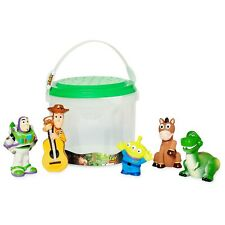 Disney Toy Story Deluxe Bath Toys 5 Piece Set Tub Toy Playset