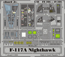 Eduard Zoom fe286 1/48 Lockheed F-117A NIGHTHAWK TAMIYA