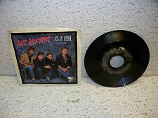 Mr. Mister Is It Love 45 RPM Record Vinyl Single w/ Picture Sleeve