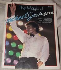 1984 The Magic of Michael Jackson Booklet King of Pop Interviews Photos