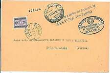 AUTOMOBILE - SPECIAL MILITARY  ARMY POSTMARK on COVER - ITALY 1942