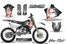 YAMAHA YZ125 YZ 125 2 STROKE 1991-1992 GRAPHICS KIT CREATORX DECALS YRS