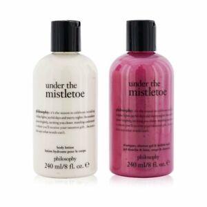 Philosophy Under The Mistletoe 2-Pieces Set: Shampo Shower Gel & Bubble 2x240ml