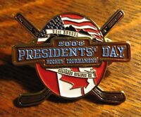Colorado Springs Co Hockey Lapel Pin - 2008 Presidents' Day Amateur Canada USA
