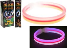 MultiColour Light Up Glow In The Dark Bracelet Unisex 8 Sticks Bracelet Necklace