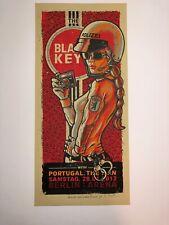 The Black Keys Berlin Lars Krause Art Poster Print 2012 Portugal, The Man