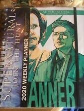 CW SUPERNATURAL 2020 PLANNER SAM & DEAN WINCHESTER W/STICKERS PICS READ LISTING