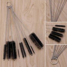 10x Household Bottle Tube Brushes Cleaning Brush Set Home Kitchen Clean Tool New