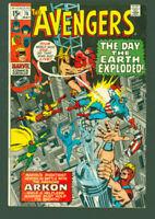 the Avengers 76 fine/vf 1st Arkon   Marvel Comics