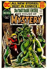 HOUSE OF MYSTERY #204 JULY 1972 VF+ 8.5 DC COMICS BERNIE WRIGHTSON SIGNED