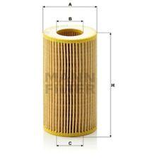 Mann HU718/1k Oil Filter Element Metal Free 115mm Height 64mm Outer Diameter