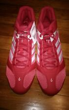 Adidas Rayn Howard Diamond King Metal Baseball Cleats Size 15 Red sample