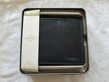 Fossil ML3681406 RFID Flip ID GENUINE Leather Bifold Wallet for men! Last One!